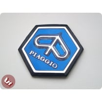 VESPA Horncast Hexagon hex Badge VLB/SPRINT RALLY BLUE
