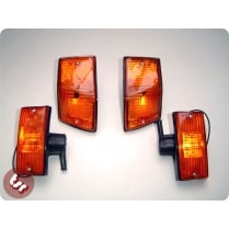 VESPA Indicator Complete Kit with Orange Lens PX/T5/LML
