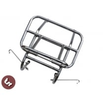 VESPA/Lambretta Italian Style Stainless Steel Front Luggage Rack Carrier PX/V