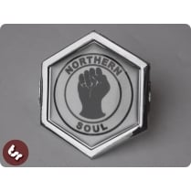 VESPA TSR Horncast Hex Clip Badge PX/LML Northern Soul