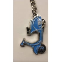 VESPA VBB Scooter Key Ring Blue