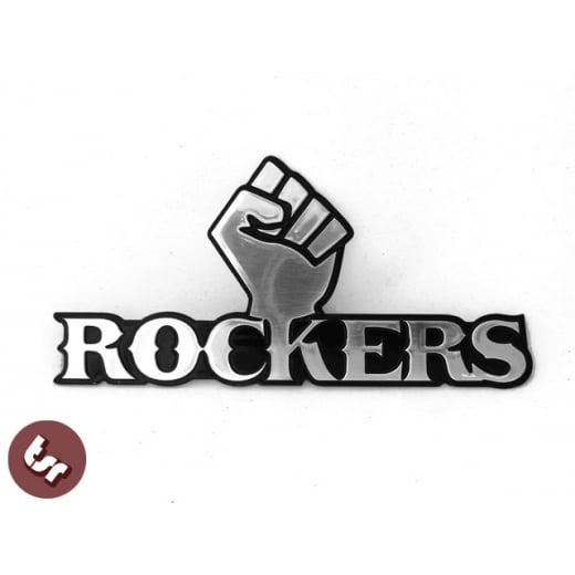 ROCKERS CNC Billet Tank Badge/Emblem Triumph Flat Tracker CB 750 XS 650 Hot Rod