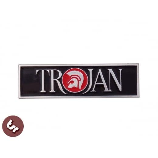 TSR Billet CNC Legshield Badge/Emblem TROJAN Custom Lambretta GP/PX/LML