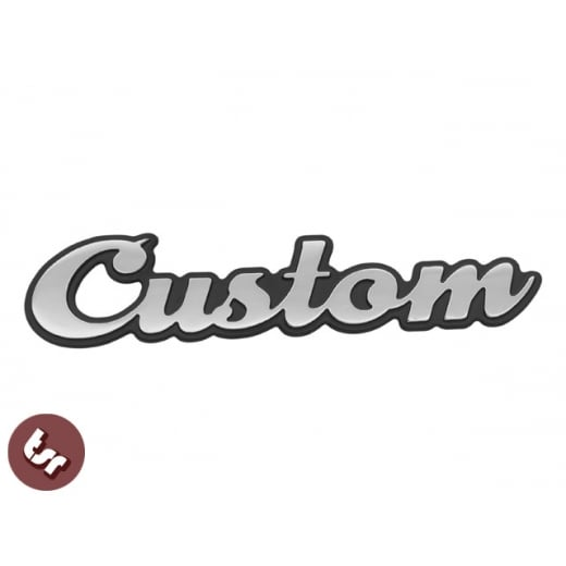 TSR Custom Billet CNC Legshield/Panel/Badge/Emblem/Alloy fit Vespa/Lambretta/LML