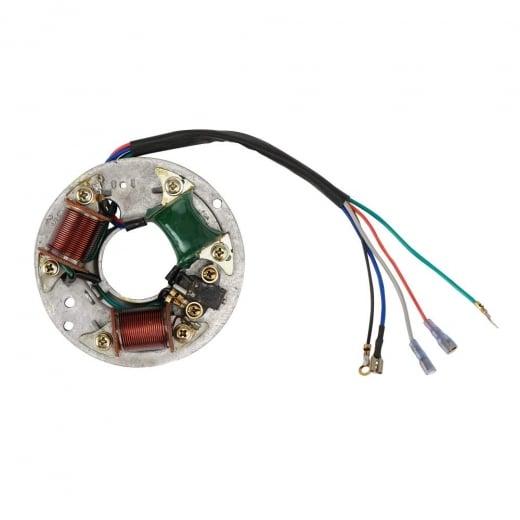 VESPA 12v Sprint/VBB/VLB Stator Plate Assembly 12 Volt
