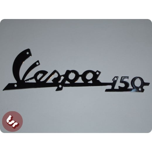 VESPA 150' VBB/VBA Sportique Legshield Badge Chrome