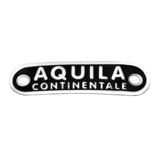 VESPA Behind Seat AQUILA CONTINENTALE Badge