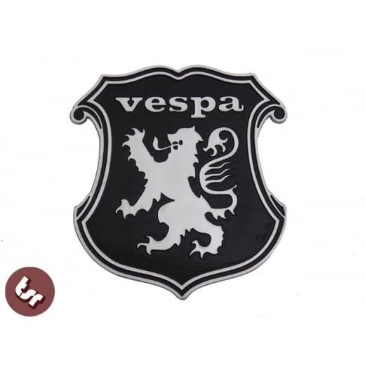 VESPA Billet CNC Shield/Crest/Lion/England Legshield/Panel/Frame Badge