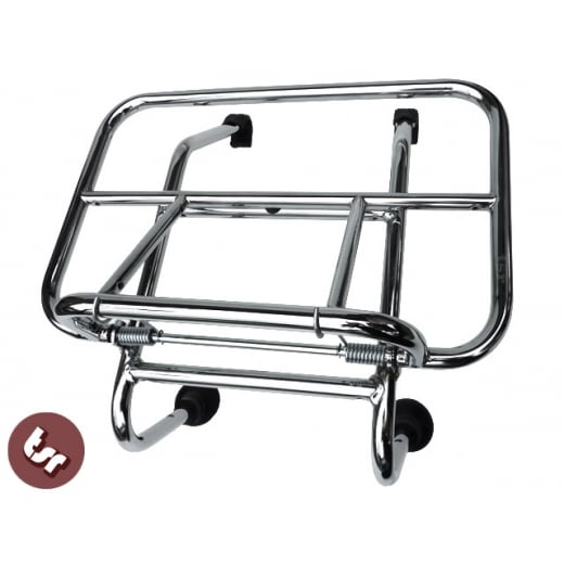 VESPA Chrome Front Rack Carrier Smallframe Et3 V90 PK++