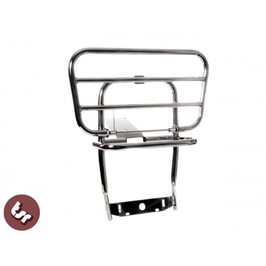 VESPA Chrome Rear Rack/Luggage Carrier PX/LML 125/200