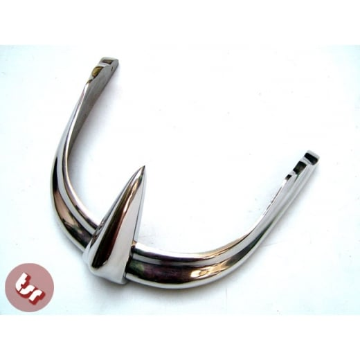 VESPA Front Mudguard Trim VBB /Sportique Polished Alloy