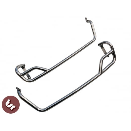 VESPA GTS DAMAGED STOCK Side Panel Crashbars GTV/GTS/GT 125/250/300 STAINLESS