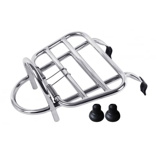 TSR Vespa GTS/GT Front Touring/Luggage Rack Stainless Steel
