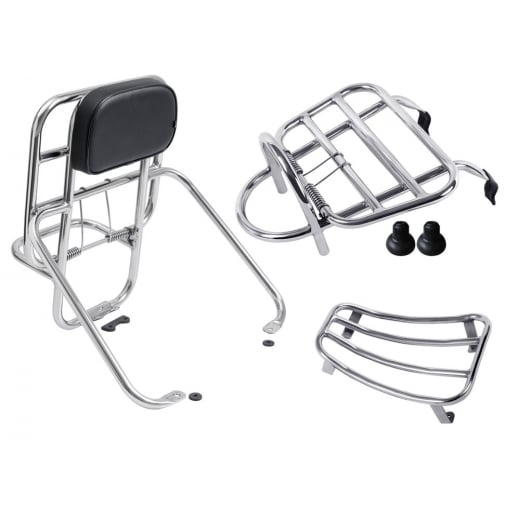 Tsr Vespa Gts Gt Super Touring Rack Combo Front Rear Floor