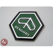 VESPA Horncast Hexagon Badge VLB/SPRINT RALLY etc GREEN