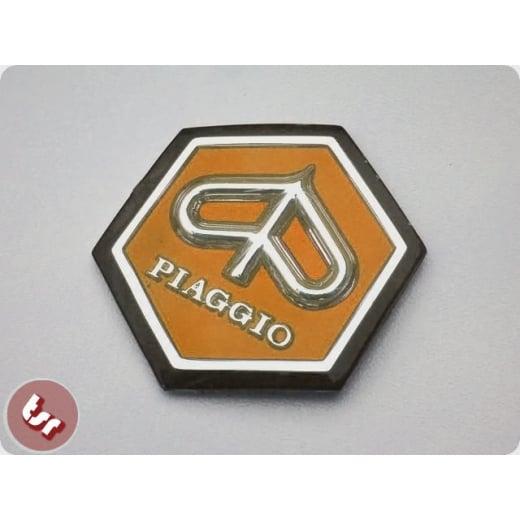 VESPA Horncast Hexagon Badge VLB/SPRINT RALLY - ORANGE