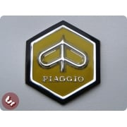VESPA Horncast Hexagon Badge VLB/SPRINT RALLY - YELLOW