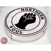 "VESPA/LAMBRETTA 10"" Spare Wheel Cover mod NORTHERN SOUL"