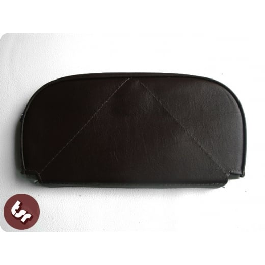 VESPA/LAMBRETTA Back Rest Slipover Cover/Pad Dark Brown