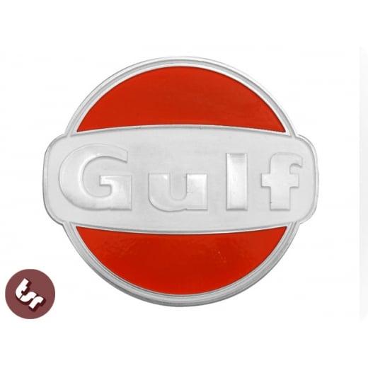 VESPA/LAMBRETTA Gulf Billet CNC Legshield/Panel/Badge/Emblem/Alloy px/gp/lml