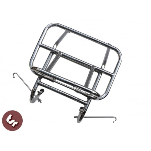 VESPA/Lambretta Italian Style Stainless Steel Front Luggage Rack Carrier