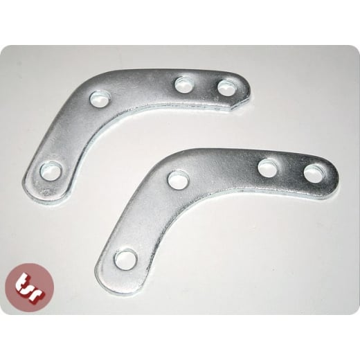 VESPA/LAMBRETTA Mirror/Flyscreen Brackets Pair 8/10mm PX/SPRINT/SUPER