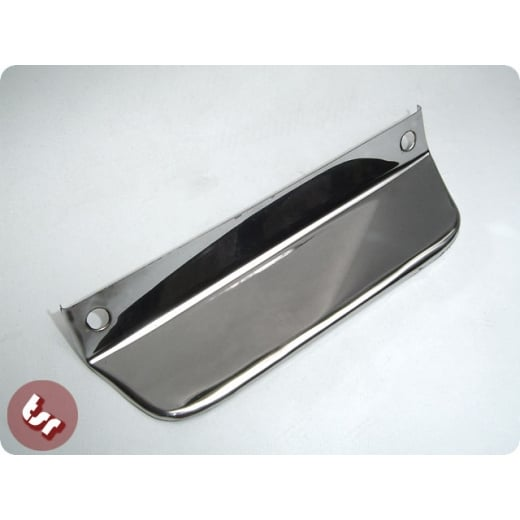 VESPA/LAMBRETTA Number Plate Lip / Trim Stainless Steel