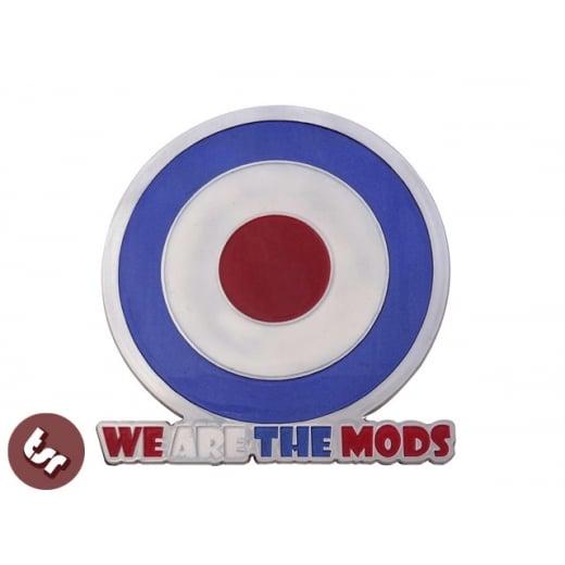 VESPA/LAMBRETTA We are the Mods! Billet CNC Legshield/Panel/Badge/Emblem/Alloy