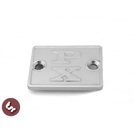 VESPA PX Billet CNC Disc Brake Handlebar/Head Set Master Cylinder Cover 125/200