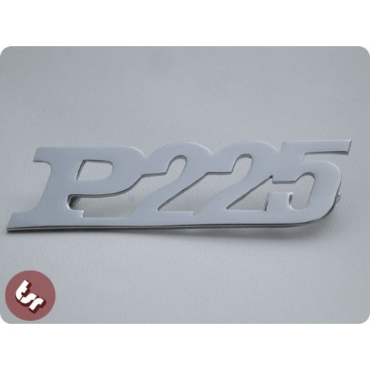 VESPA PX Custom Legshield/Panel Badge 'P225'