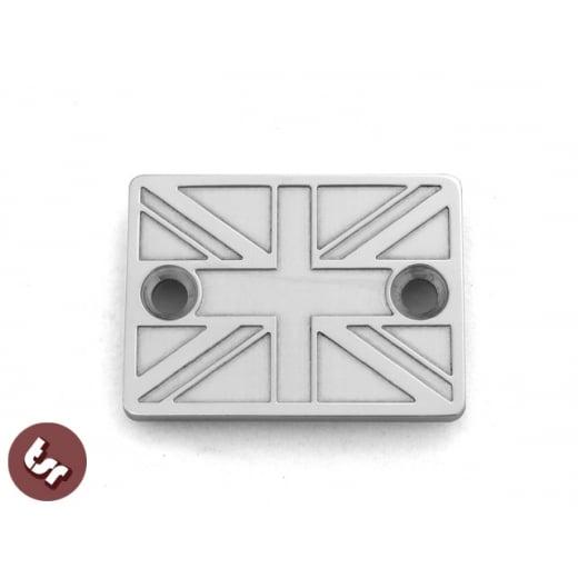 VESPA PX/LML/GTV CNC Disc Brake Handlebar Master Cylinder Cover UNION JACK FLAG