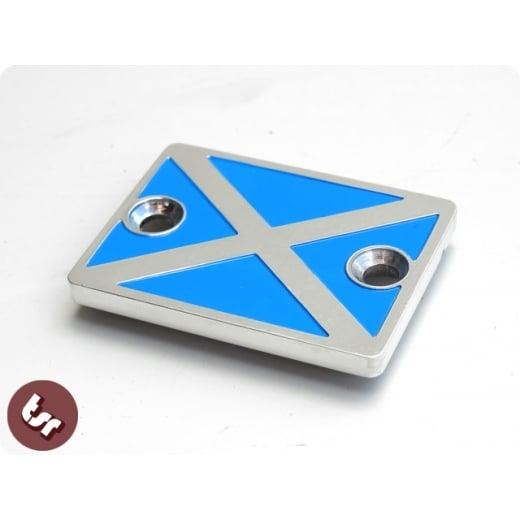 VESPA PX/LML SCOTLAND Billet CNC Disc Brake Handlebar Master Cylinder Cover Cap