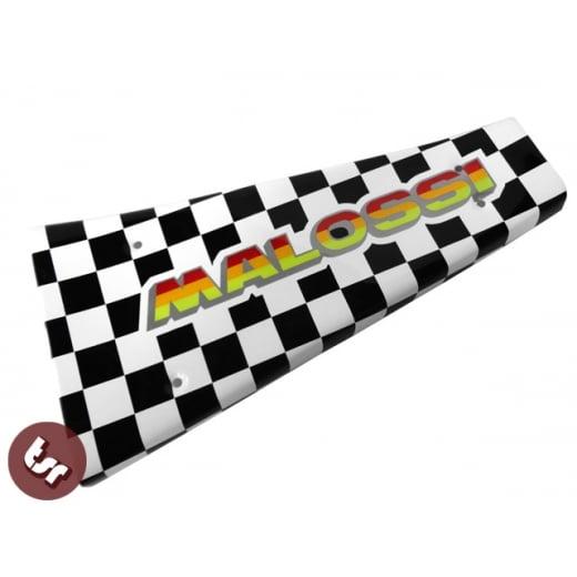 VESPA PX/LML/T5 Custom Centre Mat/Metal Floor Plate Malossi