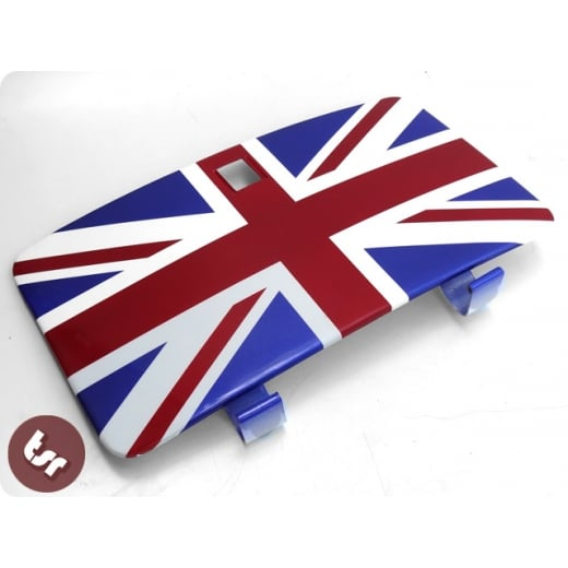 VESPA PX/LML/T5 Custom Glove/Tool Box Door Lid Union Jack Flag Toolbox/glovebox