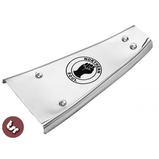 VESPA PX/LML/T5 Engraved Centre Plate/Mat NORTHERN SOUL Stainless Steel