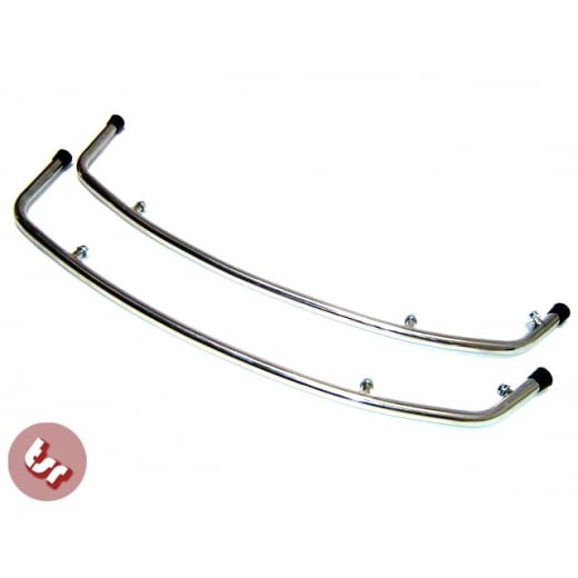 VESPA PX/LML/T5/PE Stainless Side Panel/Cowl Crash Bars