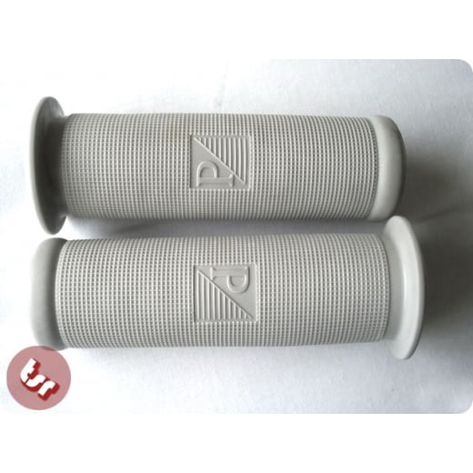 VESPA PX/Sprint/T5/LML Rubber Hand Grips Pair 24mm Grey