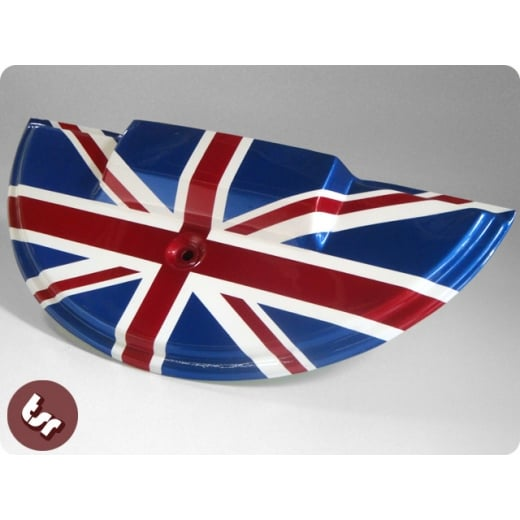 VESPA PX/T5/LML 1/2 Moon Spare Wheel Cover Union Jack