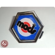VESPA PX/T5/LML Horncast Badge Chrome Hexagon MODS