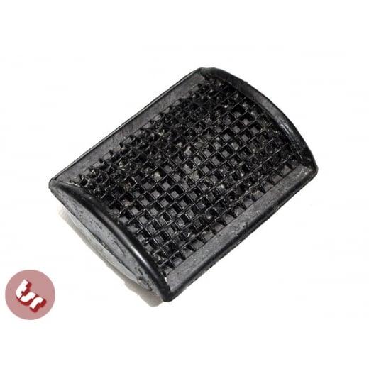 VESPA PX/T5/LML Rear Brake Pedal Rubber Black