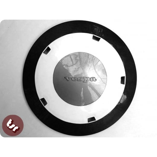 "VESPA PX/T5/VLB + 10"" Wheel Disc MOD B/W Pro Paint"