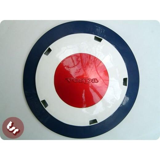 """VESPA PX/T5/VLB + 10"""" Wheel Disc MOD Target Pro Paint"""