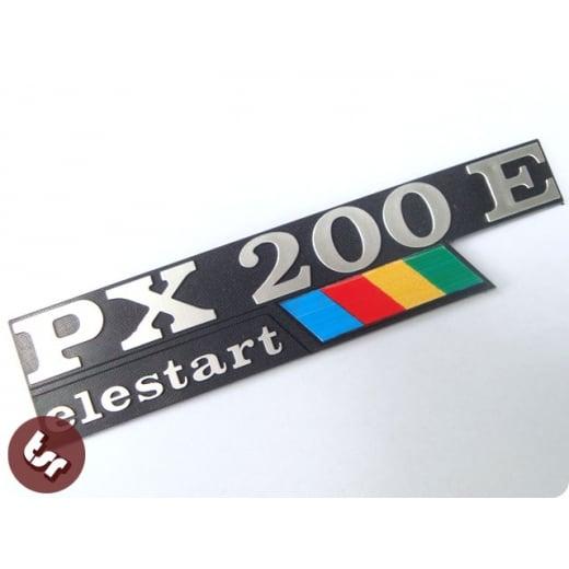 VESPA PX200E Elestart Side Panel/Legshield Badge P200 PX200 Classic