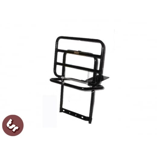 VESPA Quality Black Rear Rack Beer Carrier PX/LML/T5
