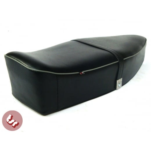 VESPA Quality Dual Bench Seat Black+Grey PX/LML/VBB/VLB