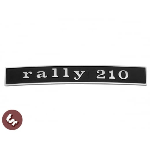 VESPA Rally 210 Billet CNC Badge/Emblem Rear Frame Malossi/Polini 180/200 Tuned