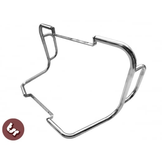 VESPA Rear Frame Crash Bar Kit Stainless Steel PX/LML/T5 125/150/200