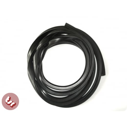 VESPA Side Panel Rubber (for 2 Side Cowls) Black