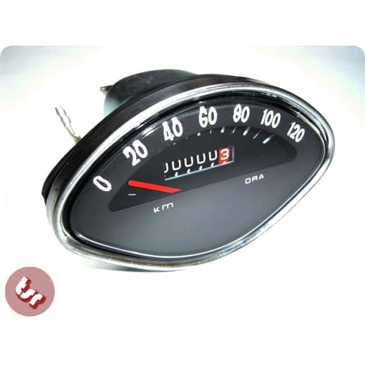 VESPA Speedo Unit Speedometer Black Sprint/SS180