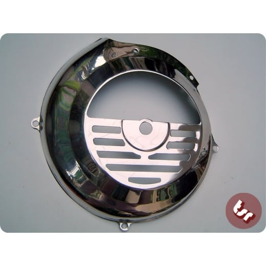 VESPA Stainless Steel Flywheel Cover Smallframe PK/ET3